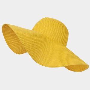 Accessories - Basic Paper Straw Floppy Sun Hat